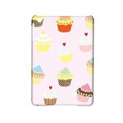 Seamless Cupcakes Wallpaper Pattern Background Ipad Mini 2 Hardshell Cases