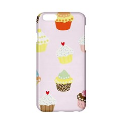 Seamless Cupcakes Wallpaper Pattern Background Apple Iphone 6/6s Hardshell Case