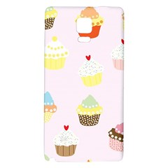 Seamless Cupcakes Wallpaper Pattern Background Galaxy Note 4 Back Case