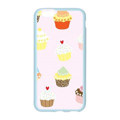 Seamless Cupcakes Wallpaper Pattern Background Apple Seamless iPhone 6/6S Case (Color)