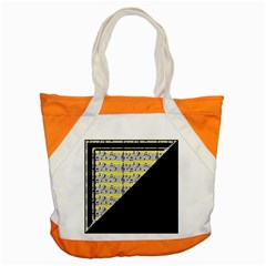 Note Abstract Paintwork Accent Tote Bag