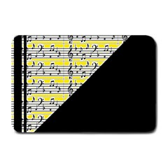 Note Abstract Paintwork Plate Mats