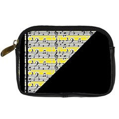 Note Abstract Paintwork Digital Camera Cases