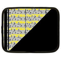 Note Abstract Paintwork Netbook Case (xl)