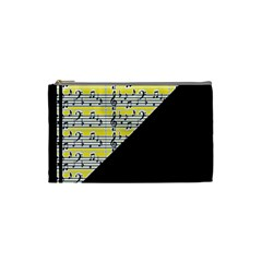 Note Abstract Paintwork Cosmetic Bag (Small)