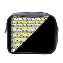 Note Abstract Paintwork Mini Toiletries Bag 2-Side