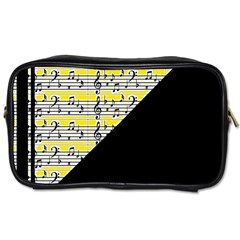 Note Abstract Paintwork Toiletries Bags