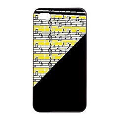 Note Abstract Paintwork Apple iPhone 4/4s Seamless Case (Black)
