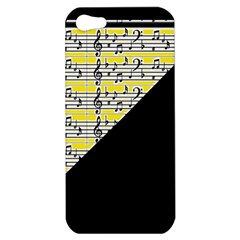 Note Abstract Paintwork Apple iPhone 5 Hardshell Case