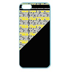 Note Abstract Paintwork Apple Seamless iPhone 5 Case (Color)