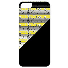 Note Abstract Paintwork Apple iPhone 5 Classic Hardshell Case