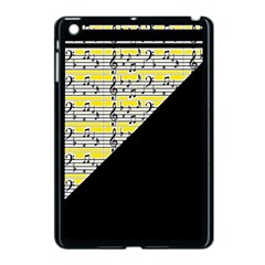 Note Abstract Paintwork Apple Ipad Mini Case (black)