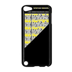 Note Abstract Paintwork Apple Ipod Touch 5 Case (black)