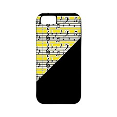 Note Abstract Paintwork Apple iPhone 5 Classic Hardshell Case (PC+Silicone)