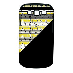 Note Abstract Paintwork Samsung Galaxy S Iii Classic Hardshell Case (pc+silicone)