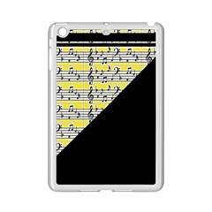 Note Abstract Paintwork Ipad Mini 2 Enamel Coated Cases