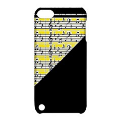 Note Abstract Paintwork Apple iPod Touch 5 Hardshell Case with Stand