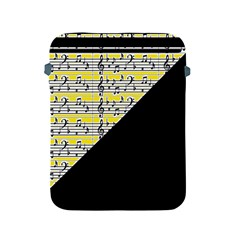 Note Abstract Paintwork Apple Ipad 2/3/4 Protective Soft Cases