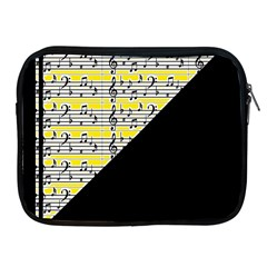 Note Abstract Paintwork Apple iPad 2/3/4 Zipper Cases