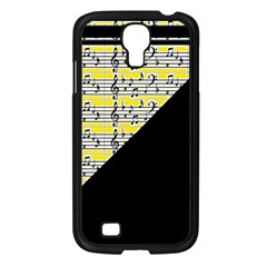 Note Abstract Paintwork Samsung Galaxy S4 I9500/ I9505 Case (black)