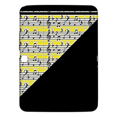 Note Abstract Paintwork Samsung Galaxy Tab 3 (10 1 ) P5200 Hardshell Case