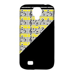 Note Abstract Paintwork Samsung Galaxy S4 Classic Hardshell Case (pc+silicone)
