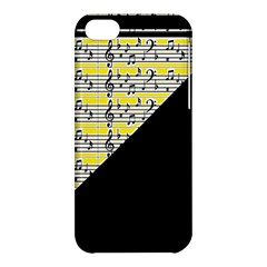 Note Abstract Paintwork Apple Iphone 5c Hardshell Case