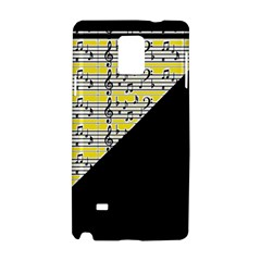 Note Abstract Paintwork Samsung Galaxy Note 4 Hardshell Case