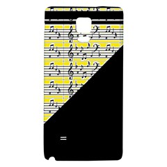 Note Abstract Paintwork Galaxy Note 4 Back Case