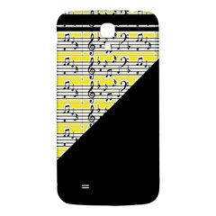 Note Abstract Paintwork Samsung Galaxy Mega I9200 Hardshell Back Case