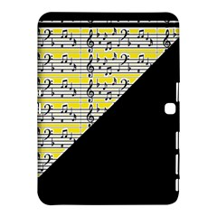 Note Abstract Paintwork Samsung Galaxy Tab 4 (10.1 ) Hardshell Case