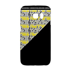 Note Abstract Paintwork Galaxy S6 Edge