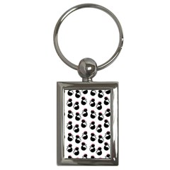 Cat Seamless Animals Pattern Key Chains (Rectangle)