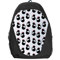 Cat Seamless Animals Pattern Backpack Bag