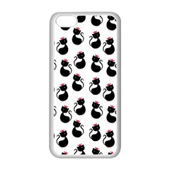 Cat Seamless Animals Pattern Apple Iphone 5c Seamless Case (white)
