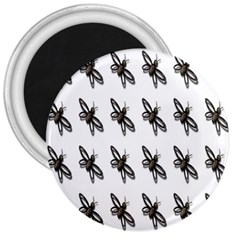 Insect Animals Pattern 3  Magnets