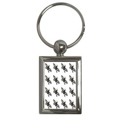 Insect Animals Pattern Key Chains (rectangle)