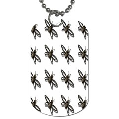 Insect Animals Pattern Dog Tag (one Side)