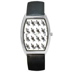 Insect Animals Pattern Barrel Style Metal Watch