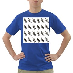 Insect Animals Pattern Dark T-Shirt