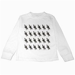 Insect Animals Pattern Kids Long Sleeve T Shirts