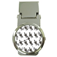 Insect Animals Pattern Money Clip Watches