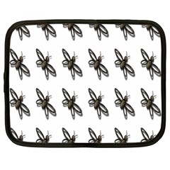 Insect Animals Pattern Netbook Case (Large)
