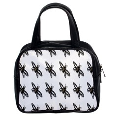 Insect Animals Pattern Classic Handbags (2 Sides)