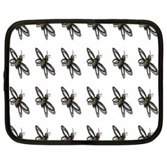 Insect Animals Pattern Netbook Case (XL)