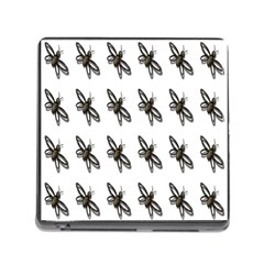 Insect Animals Pattern Memory Card Reader (Square)