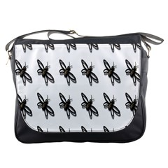 Insect Animals Pattern Messenger Bags