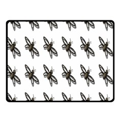 Insect Animals Pattern Double Sided Fleece Blanket (small)