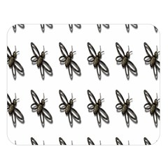 Insect Animals Pattern Double Sided Flano Blanket (Large)