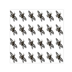 Insect Animals Pattern Small Satin Scarf (Square)